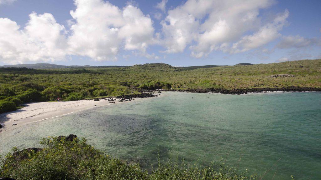 Puerto Chino, View of Cove