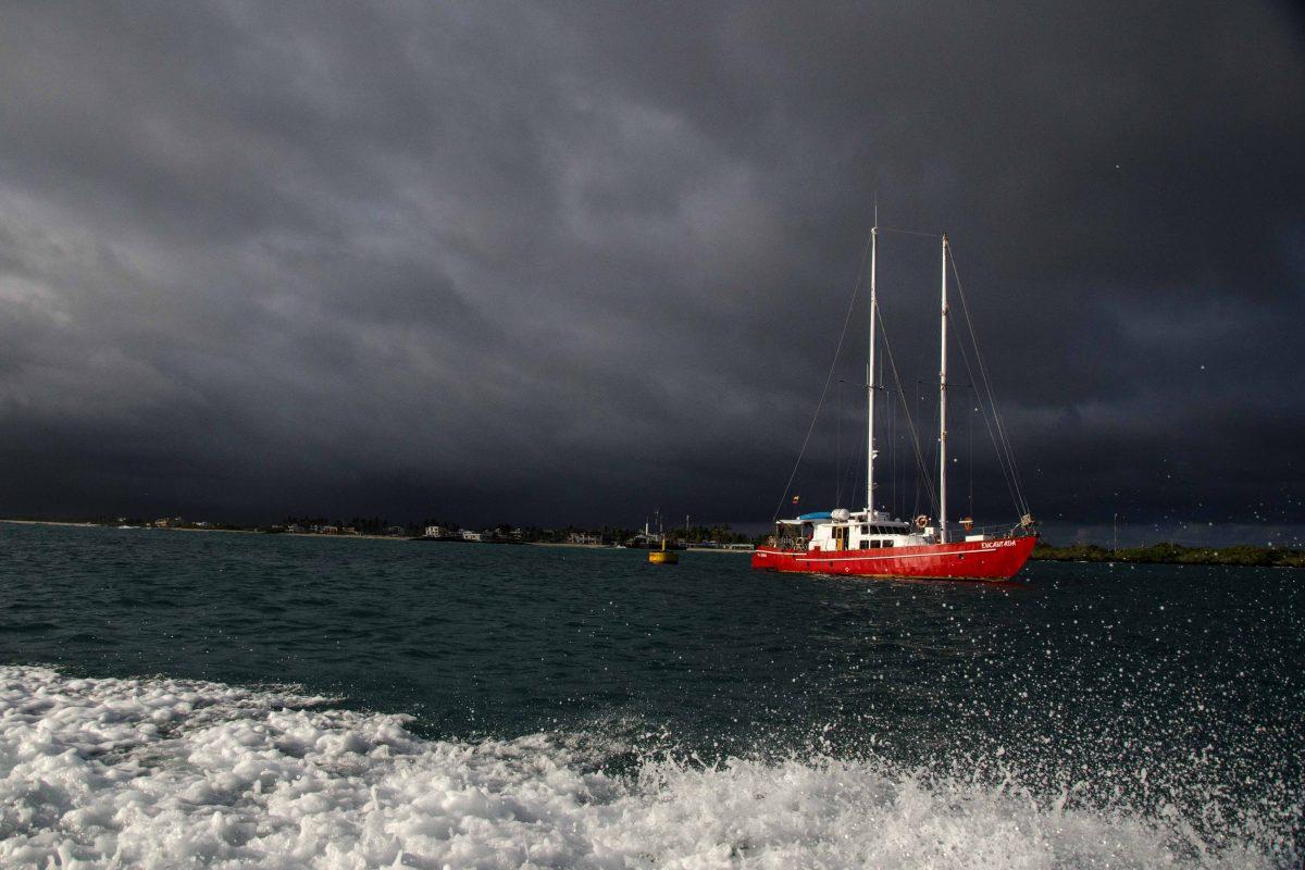 Rapidly Changing Weather, Isabela Island, The Galapagos, Ecuador | ©Angela Drake / Not Your Average American; Ecuador Por Mis Ojos