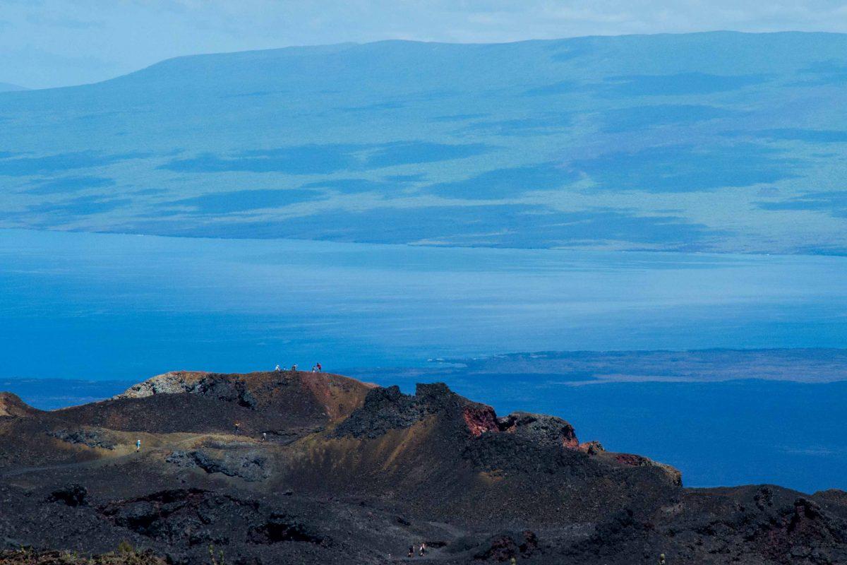 Volcan Chico, Isla Isabela, The Galapagos, Ecuador | ©Angela Drake / Not Your Average American; Ecuador Por Mis Ojos