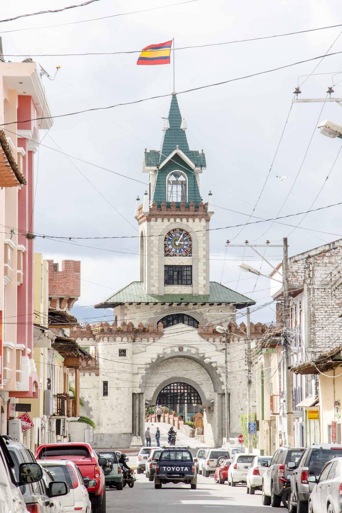 The City Gate, Loja, Ecuador   © Angela Drake