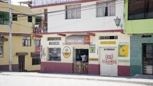 Backroads Ecuador; Storefront in Sigchos