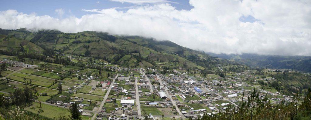 Backroads Ecuador, View of Sigchos