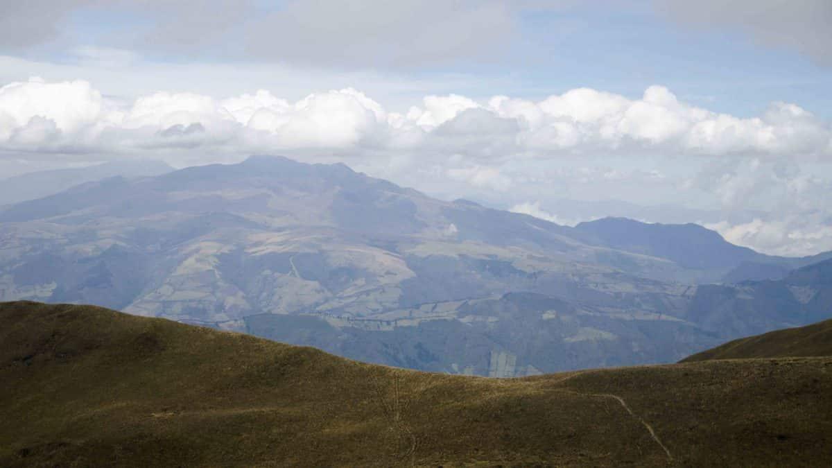View South, Hiking Pichincha, Quito, Ecuador