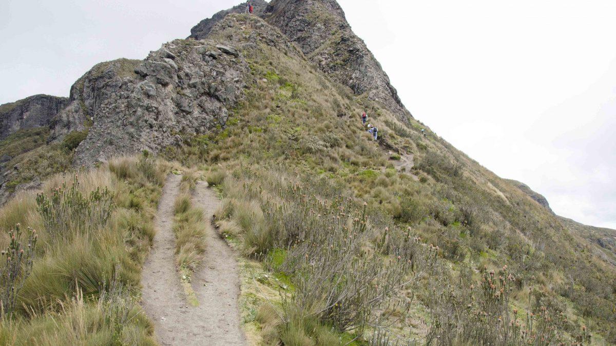 Turn Around Point, Hiking Pichincha, Quito, Ecuador