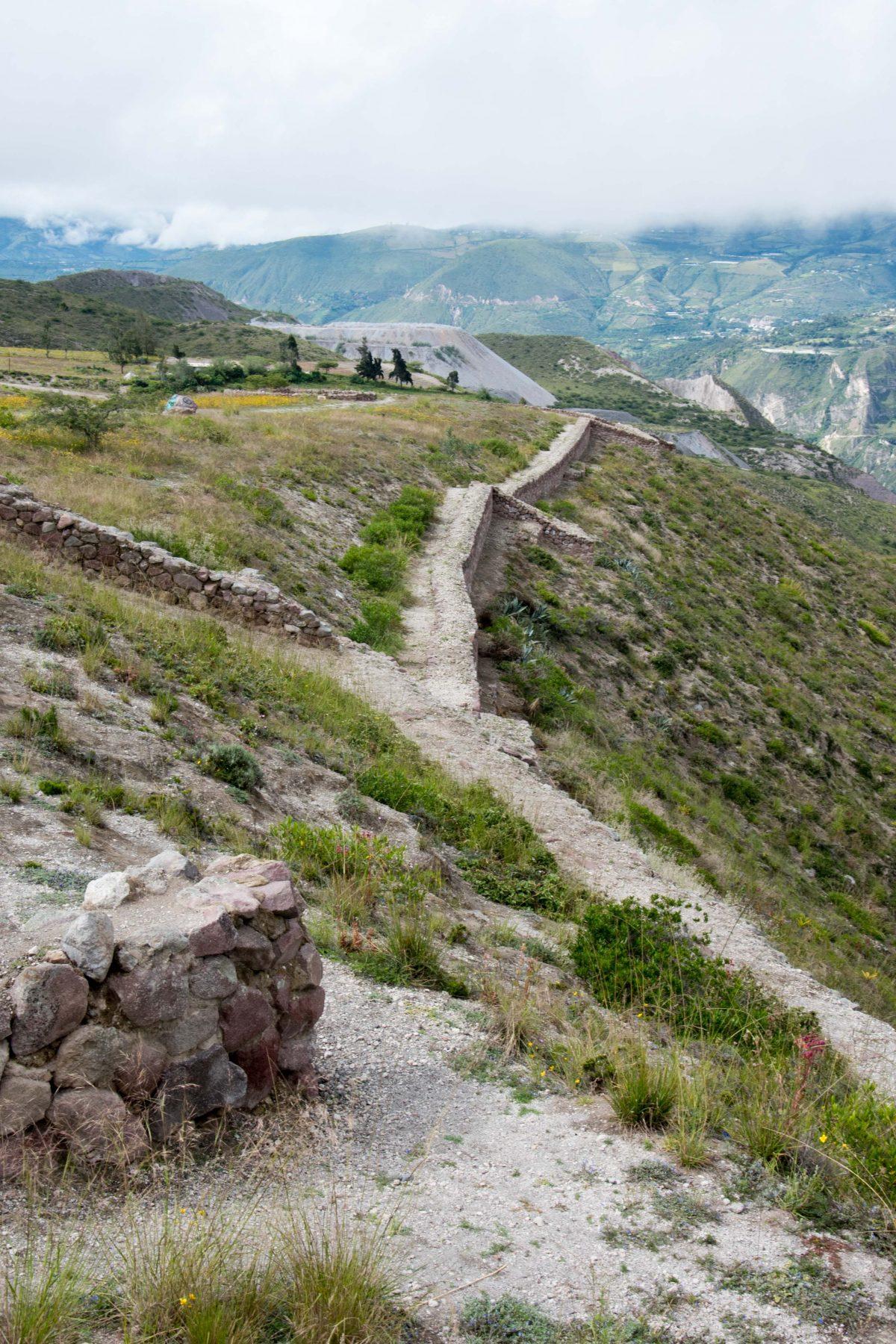 Walls of Rumicucho, San Antonio de Pichincha, Ecuador