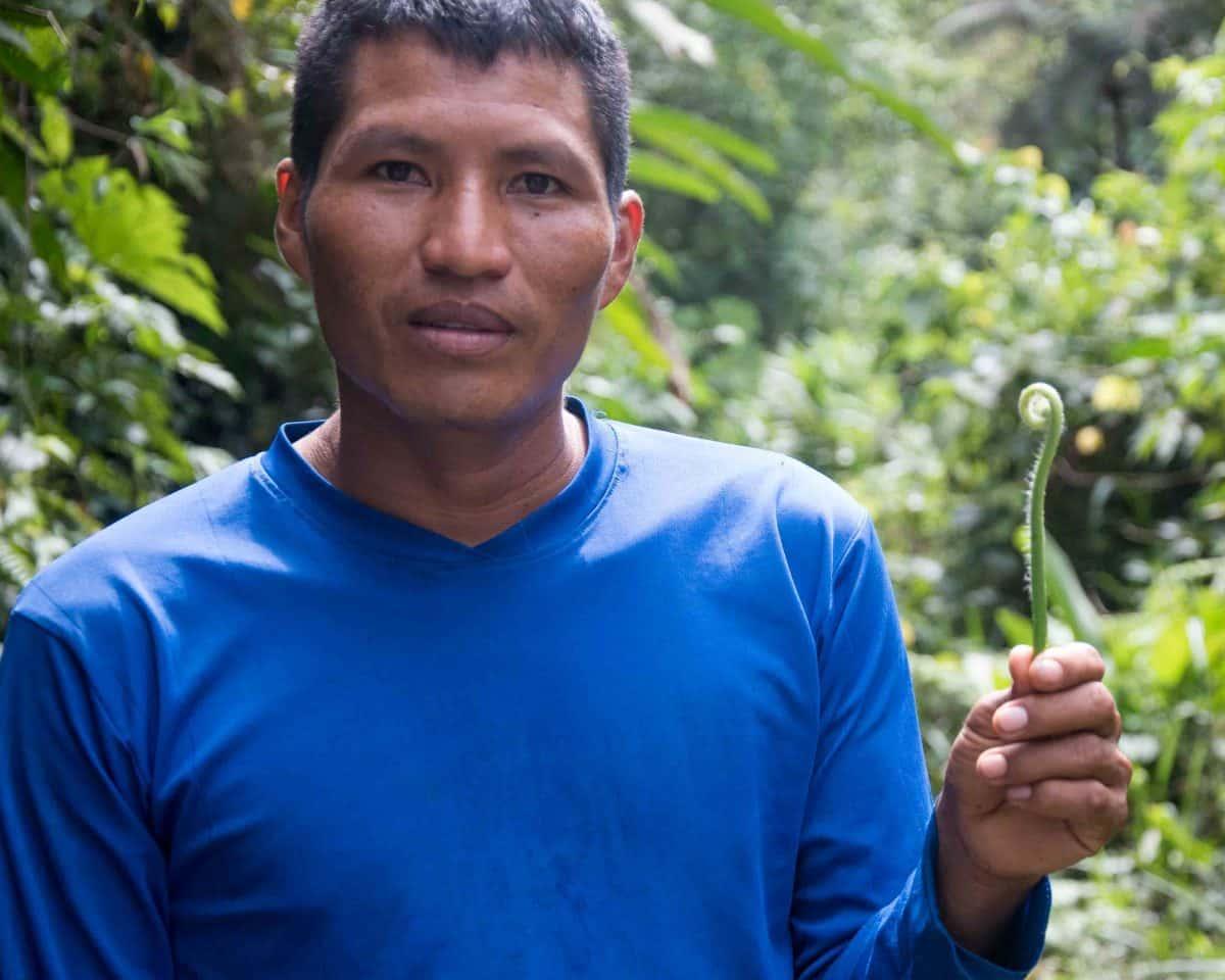 Our guide, Angel; Cascadas de Yanayacu, Napo Province, Ecuador