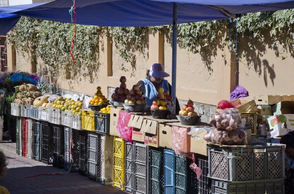 La Floresta Farmer's Market, La Floresta, Quito, Ecuador | ©Angela Drake