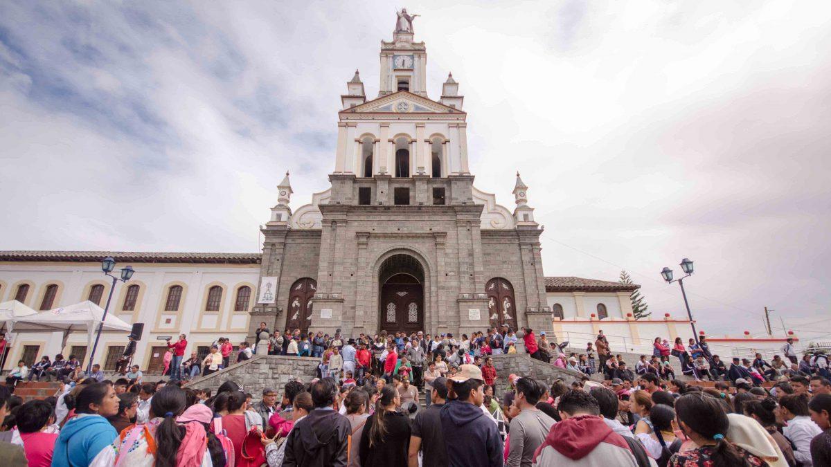 Inti Raymi Children's Celebration, Main Plaza, Cotacachi, Ecuador | ©Angela Drake