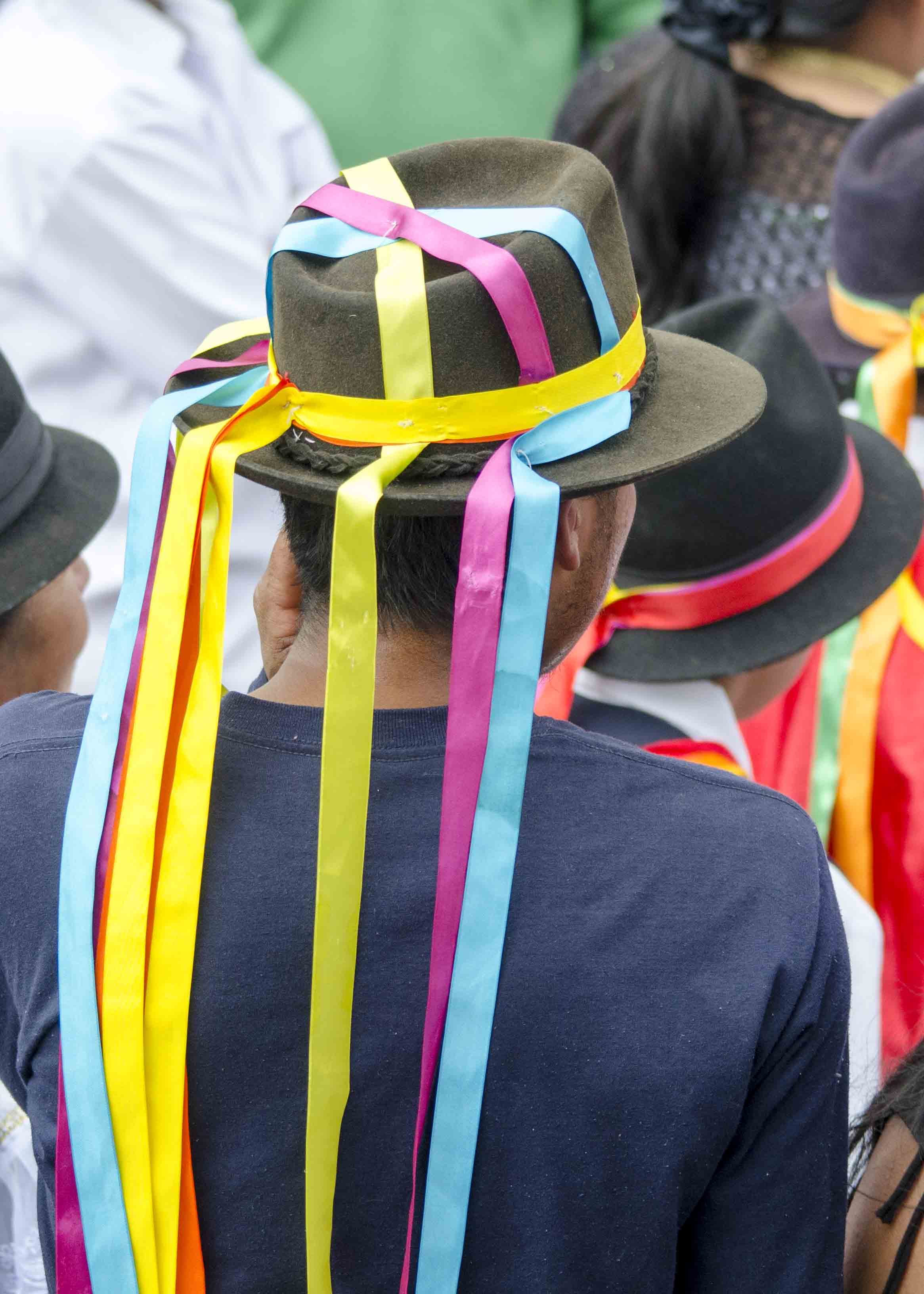 Aruchico, Taking of the Plaza, School Children Day, Cotacachi, Ecuador