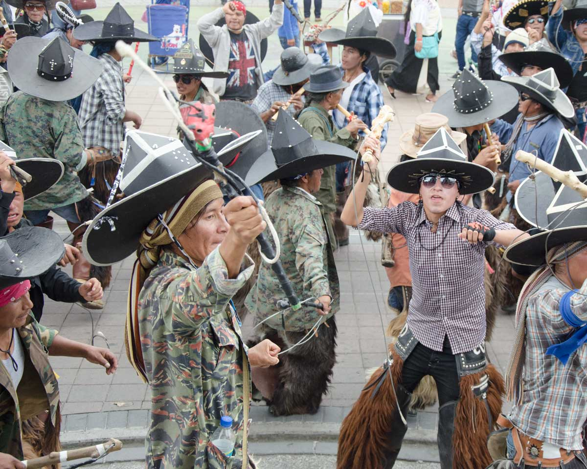 The Taking of the Plaza, Intiraymi, Cotacachi, Ecuador | ©Angela Drake