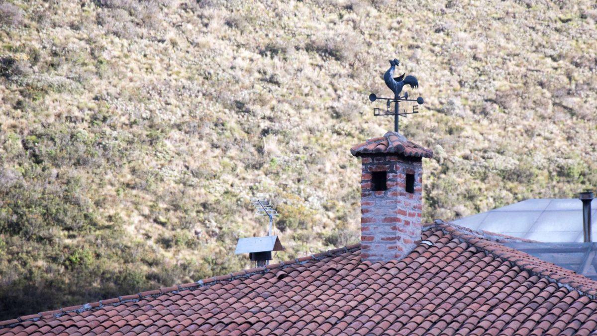 The weather vane at Guaytara Lodge. ©Angela Drake / Not Your Average American