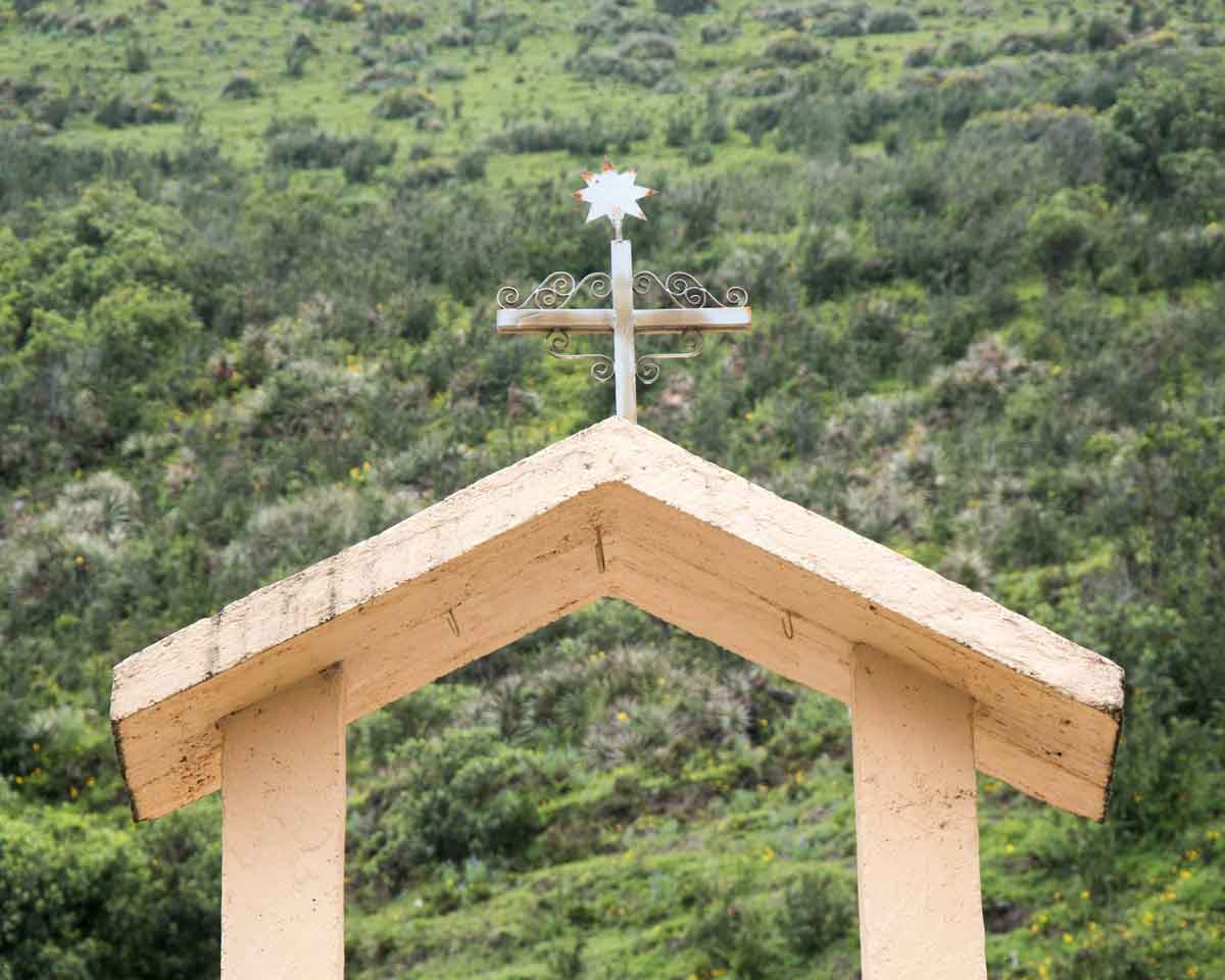 Small Chapel on the Backroad to Laguna Mica   ©Angela Drake