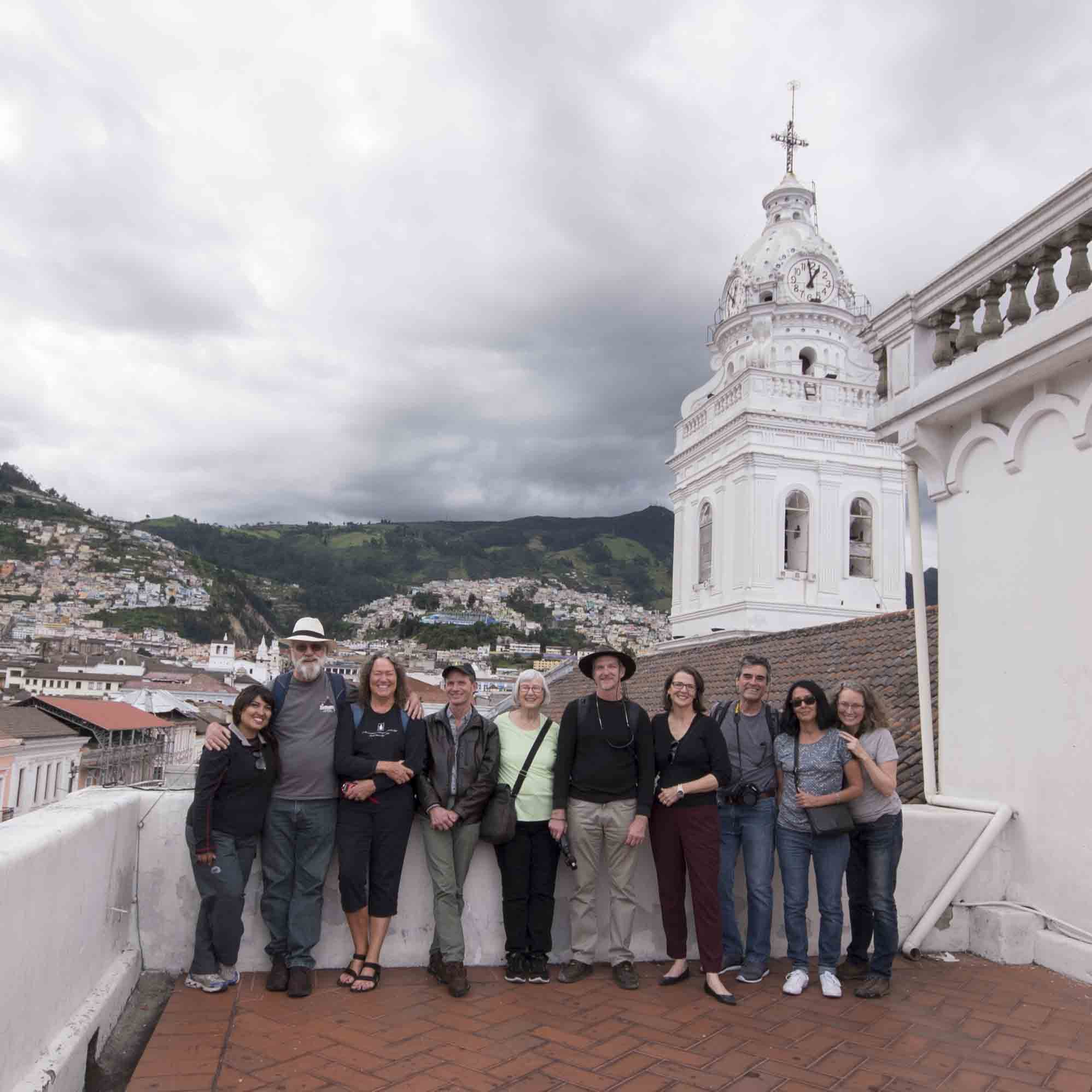A small group tour organized with local guide in Quito, Ecuador | @Angela Drake