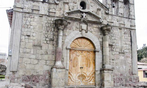 A Spanish-Colonial Church in Sicalpa Viejo, Ecuador