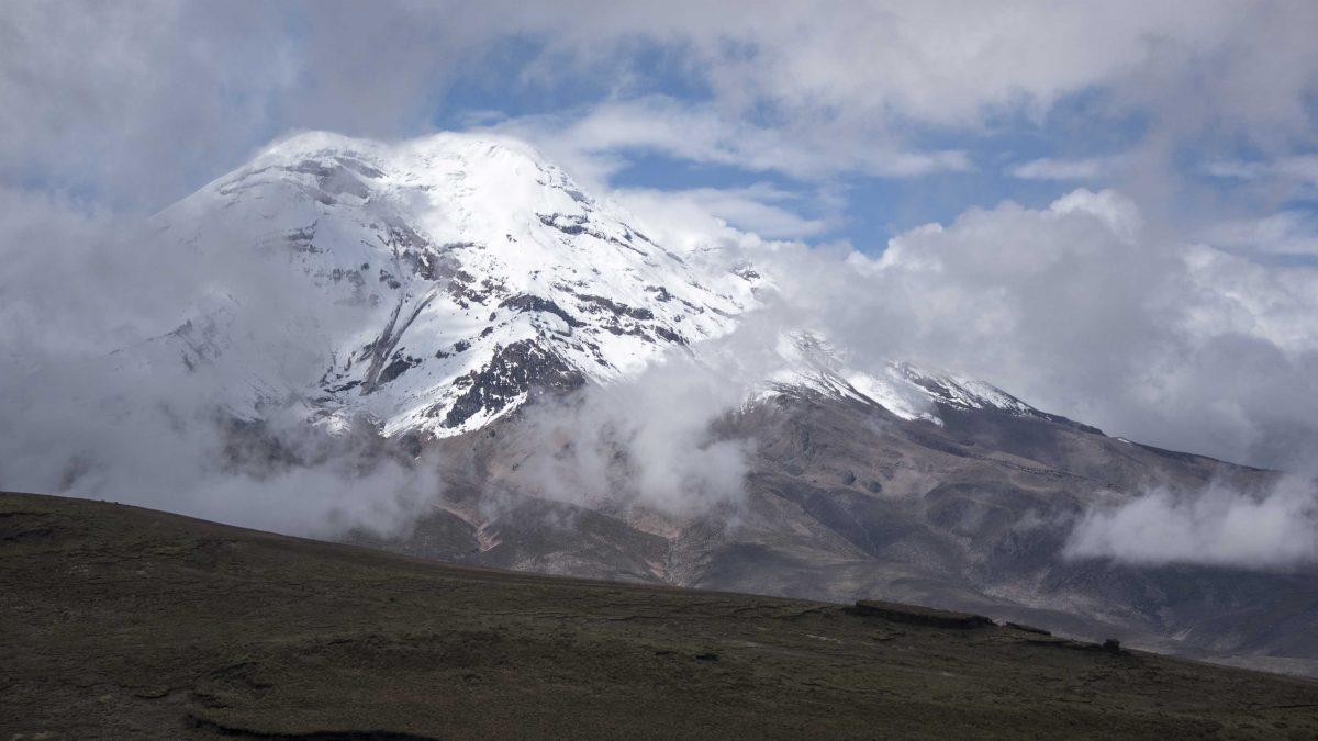Chimborazo Volcano from the Polylepis Trail, Chimborazo Wildlife Reserve, Ecuador | ©Angela Drake / Not Your Average American