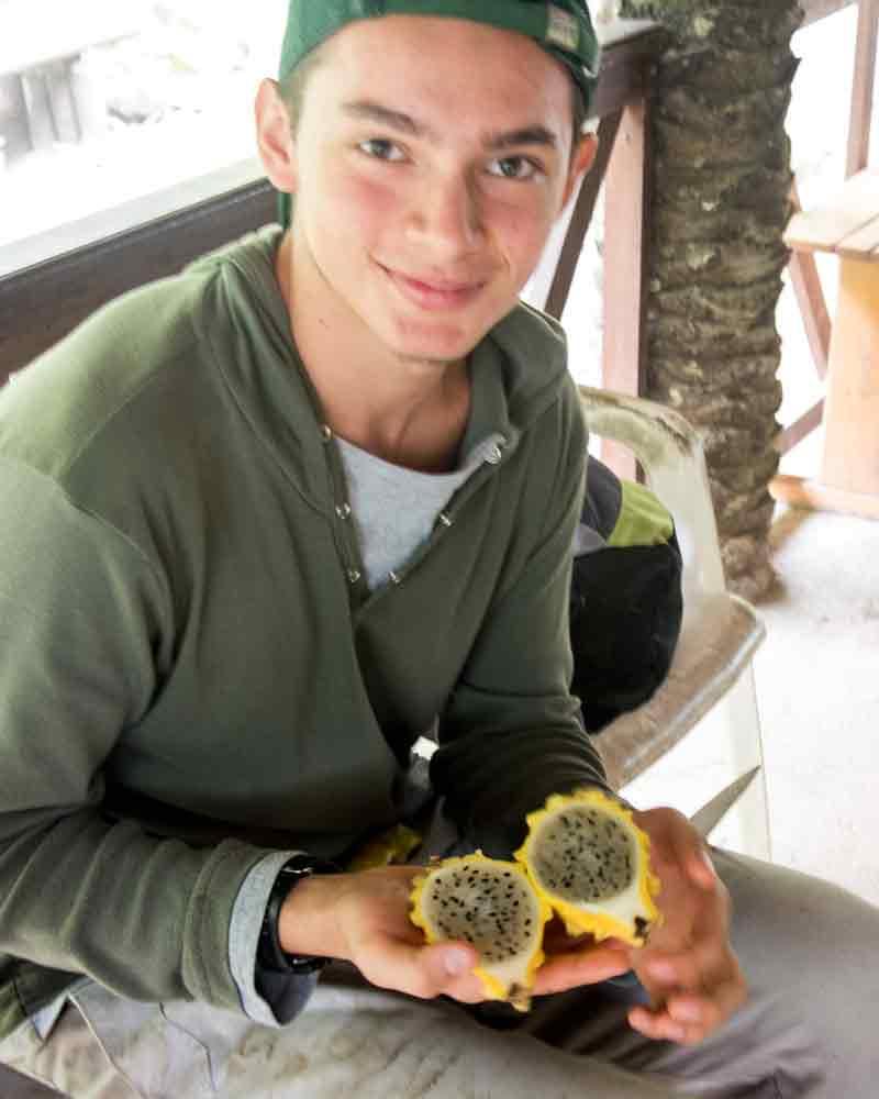 Nacho hopes to become a licensed guide in Pacto, Ecuador | ©Angela Drake