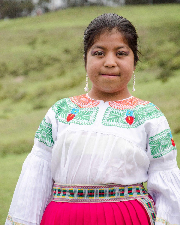 A Young Dancer from Tabacundo, Ecuador | ©Angela Drake