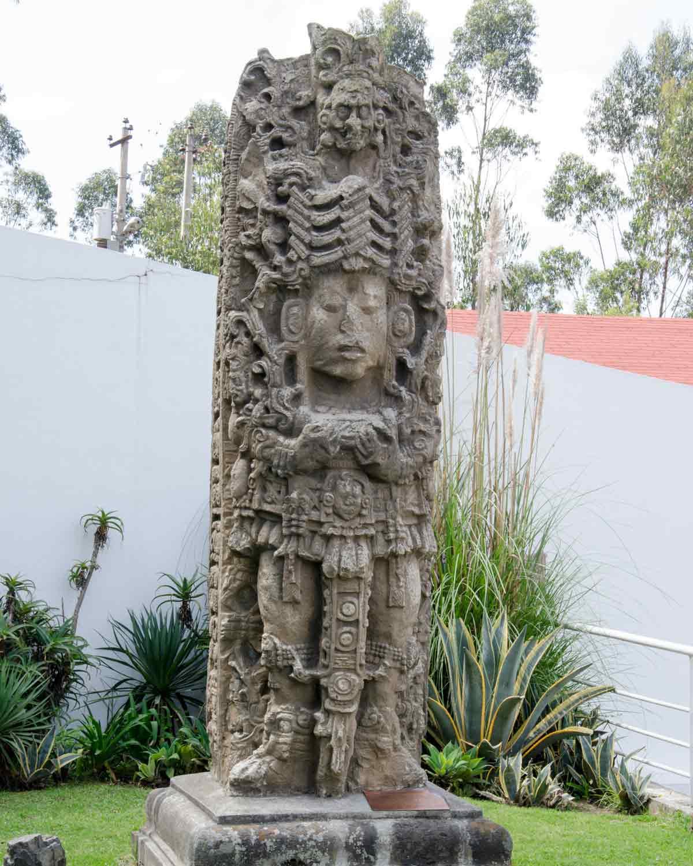 Outdoor Statue, Guayasamin Museum, Quito, Ecuador | @Angela Drake
