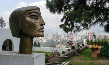 The Guayasamin Museum in Quito, Ecuador