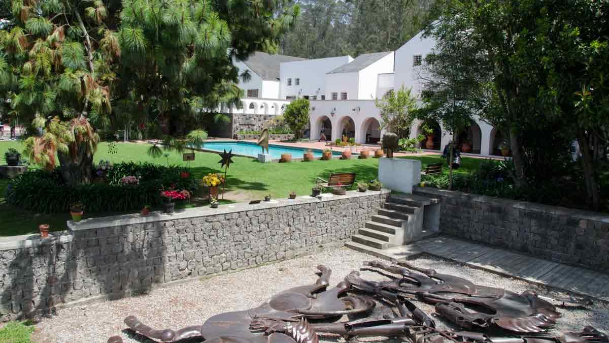 The Gardens at the Guayasamin Museum, Quito, Ecuador | @Angela Drake