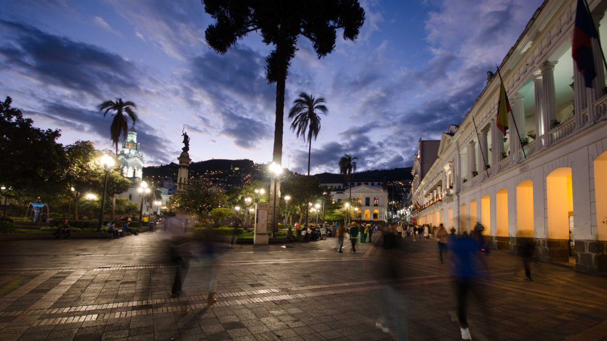 Plaza de Independencia, Quito, Ecuador | © Angela Drake