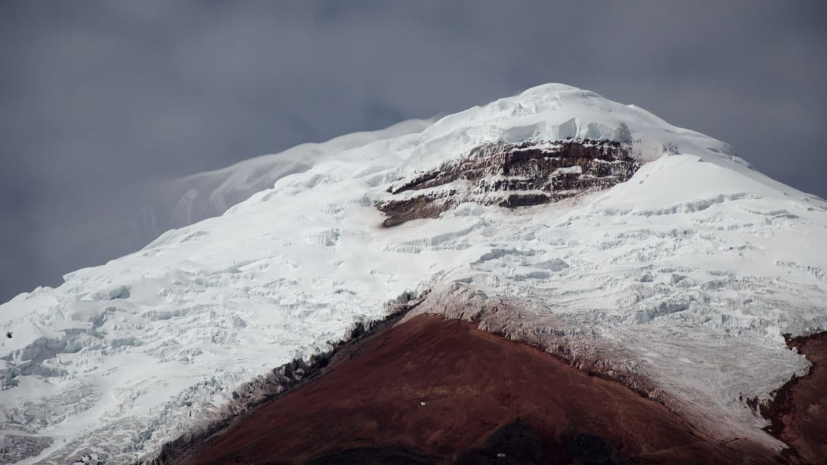 High Winds on the Cotopaxi Summit | July 2014 | ©Angela Drake