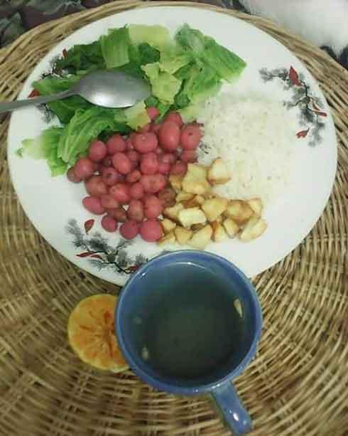 Melloco as a side dish | © Chi-sinchi Tambo Orgánico