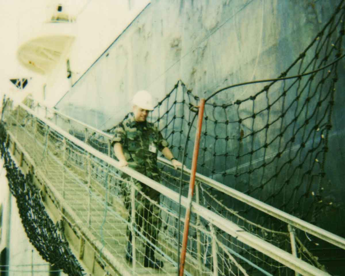 Did you know the USAF leases ships? Neither did Scott until he was responsible for them.