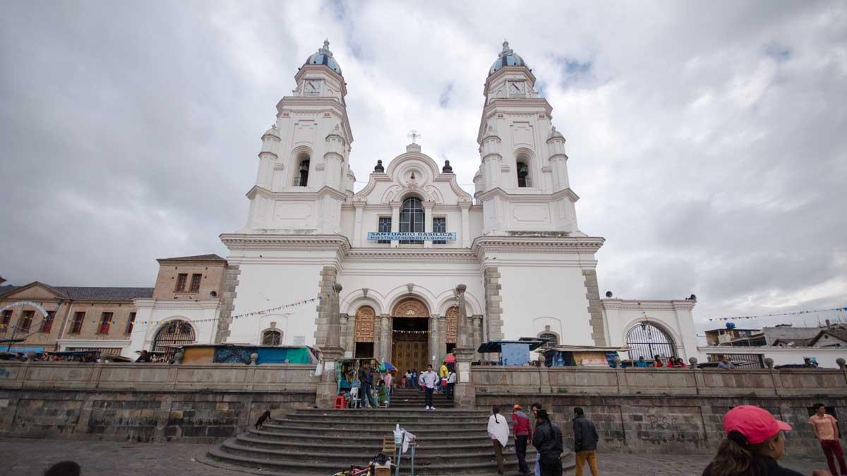 The Church in El Quinche | ©Angela Drake