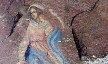 The Virgin's Grotto near Nono, Ecuador