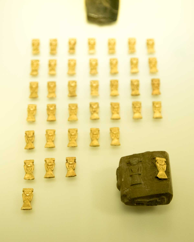 Gold Figures Made Using Wax Mold   Gold Museum Bogota   ©Angela Drake