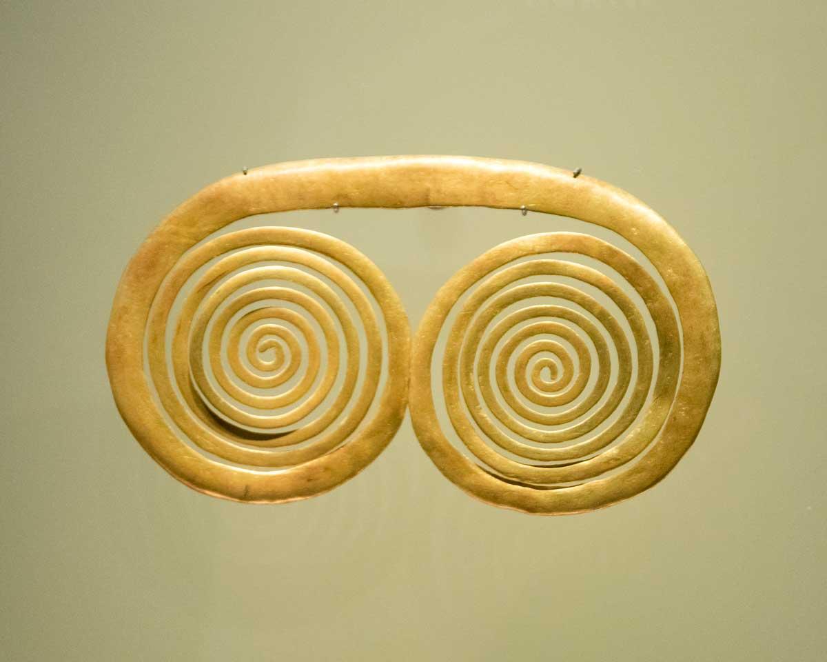 Spiral Adornment   Gold Museum Bogota   ©Angela Drake