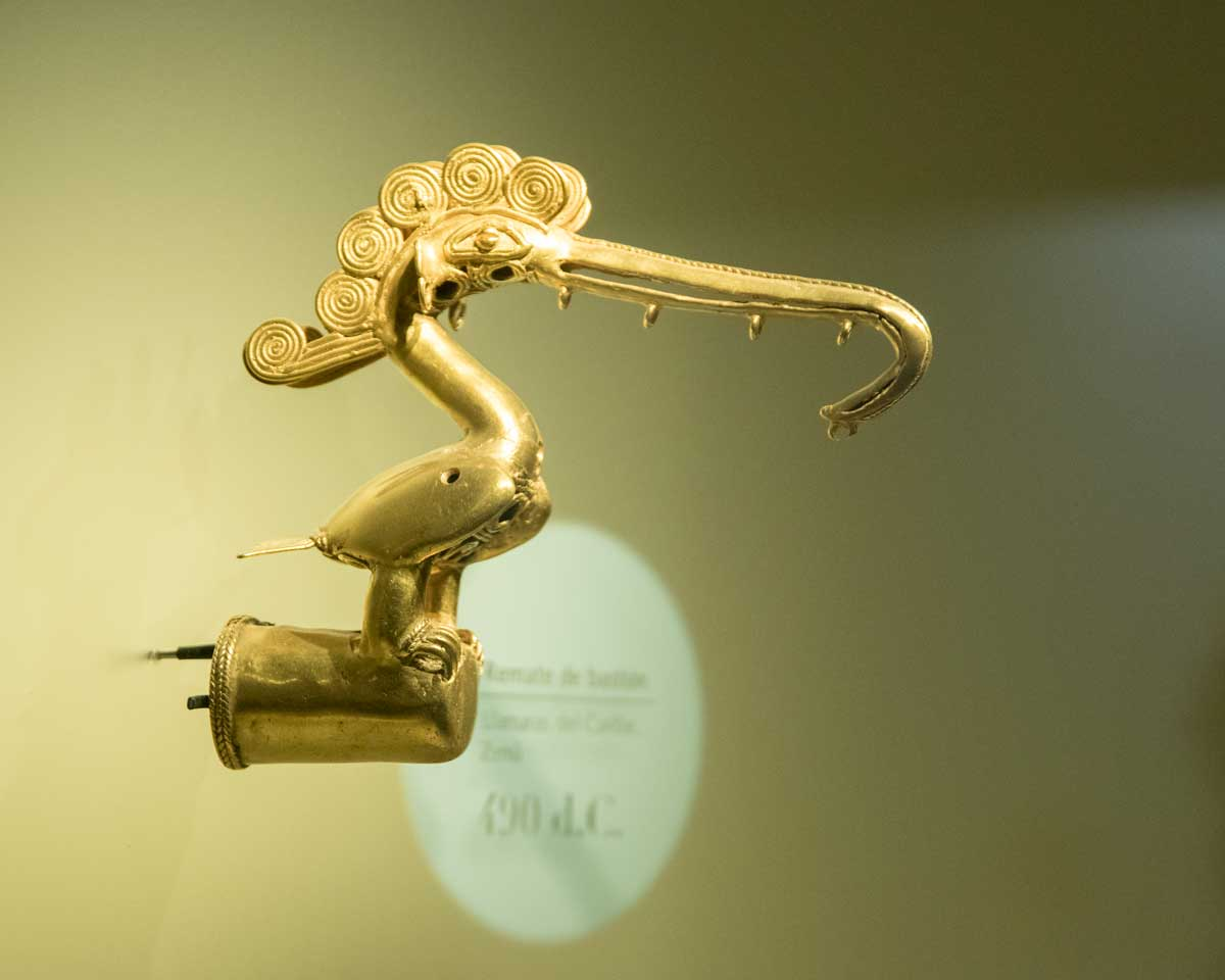 Frigate Bird, 490 CE   Gold Museum Bogota   ©Angela Drake