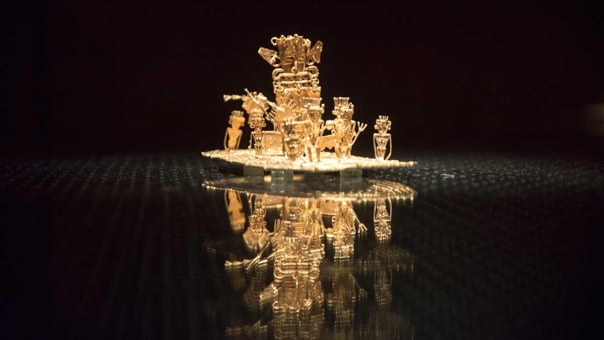The Offering   Gold Museum Bogota   ©Angela Drake