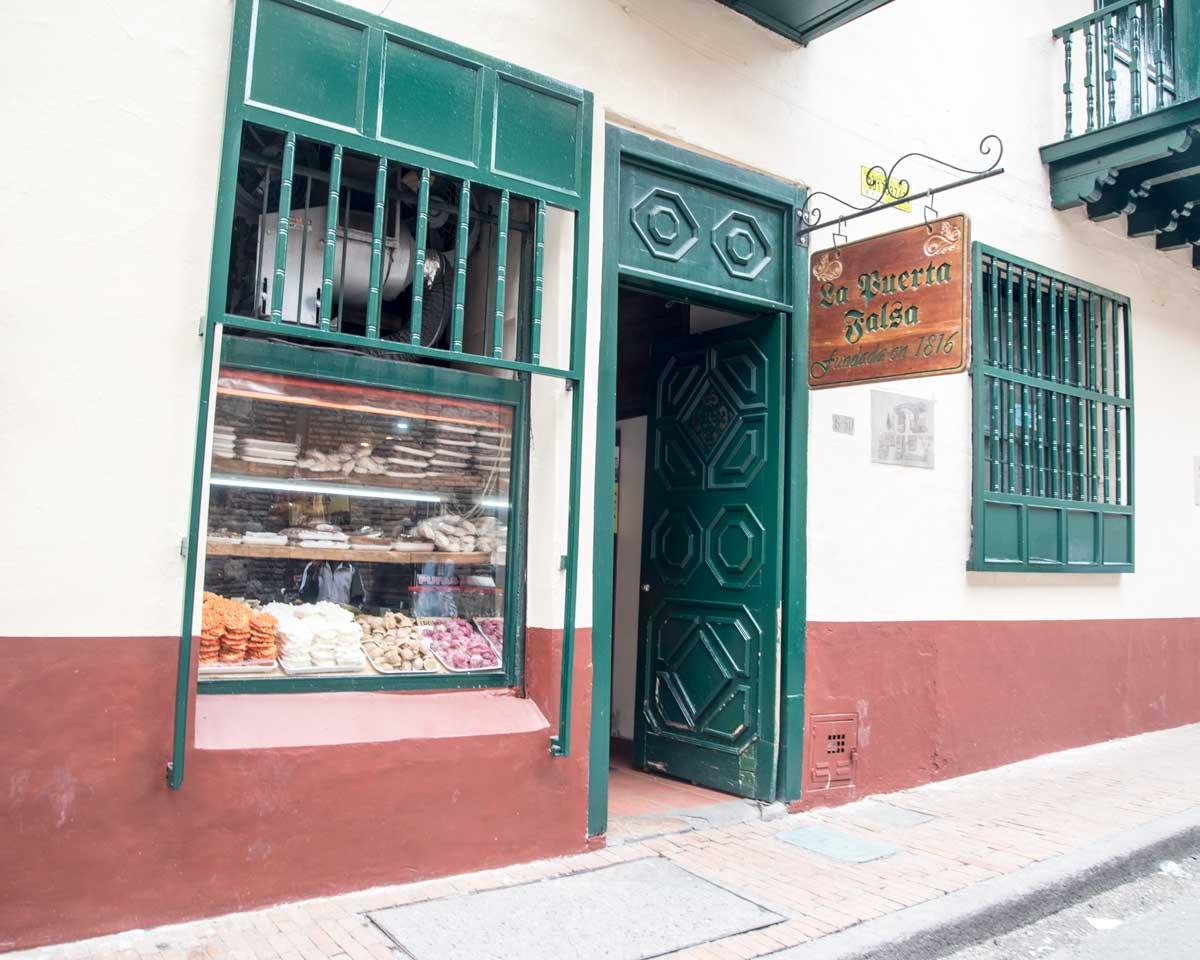 La Puerta Falsa, Bogota | ©Angela Drake