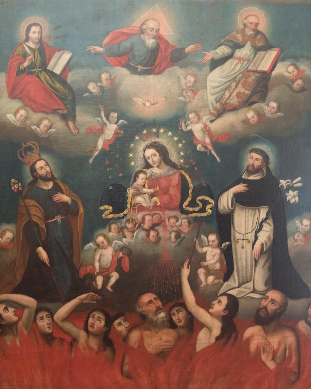 Painting of the Quito School, Museo Arquidiocesano de Arte Religioso | ©Angela Drake
