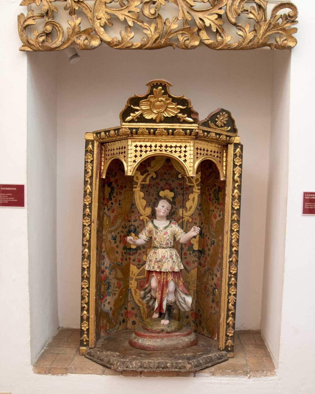 Carved Statue of the Quito School, Museo Arquidiocesano de Arte Religioso | ©Angela Drake