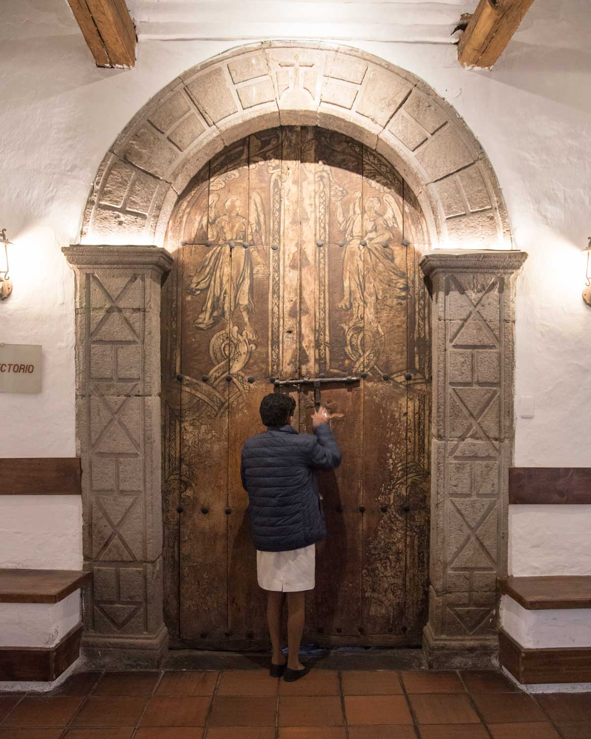 Entrance to the Dining Room, San Diego Convent, Quito | ©Angela Drake