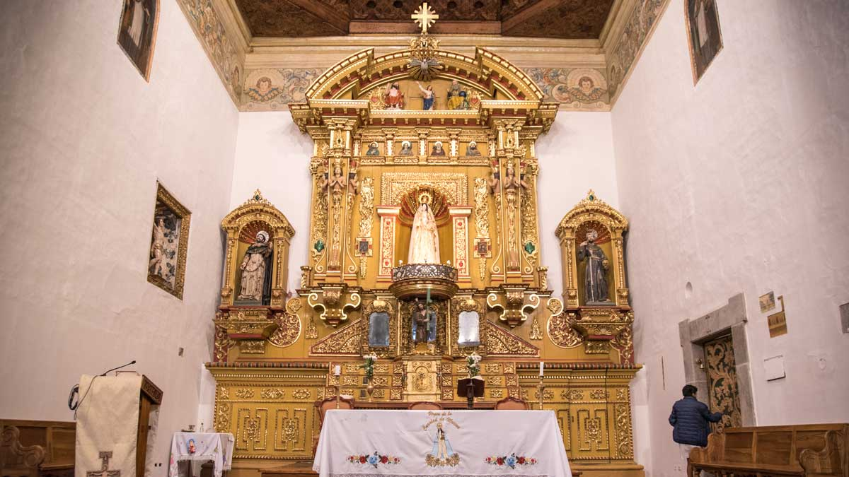 The Main Altar, San Diego Convent, Quito | ©Angela Drake
