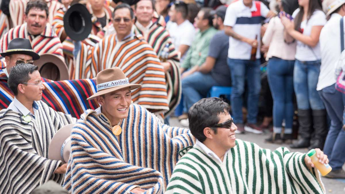 Los Yumbos, Mama Negra, Latacunga, Ecuador   ©Angela Drake