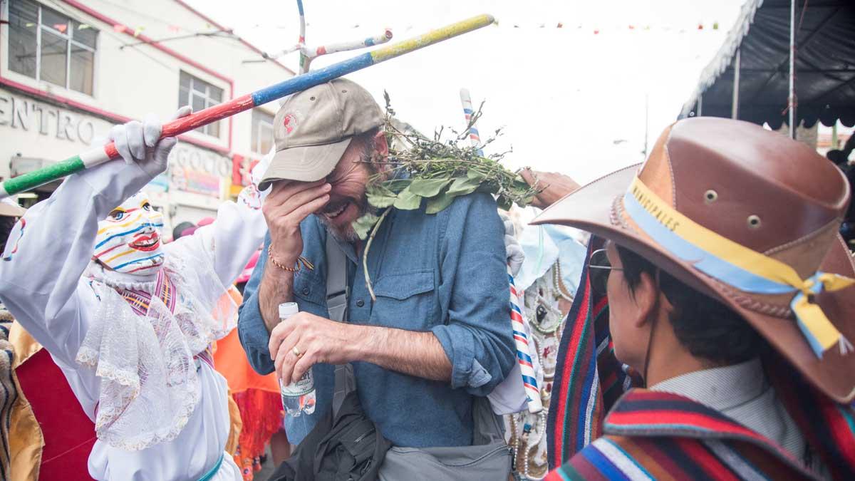 The Blessing of Los Huacos, Mama Negra, Latacunga, Ecuador   ©Angela Drake