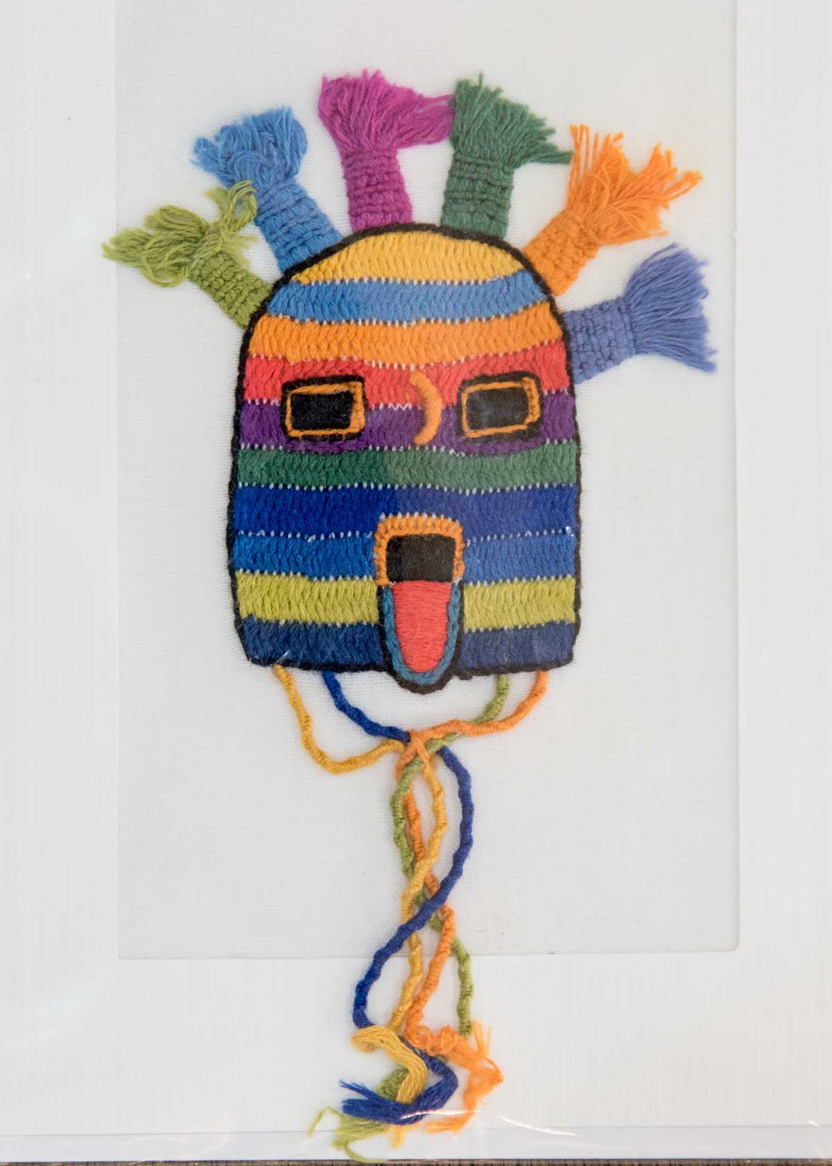 Diablo Huma; Exhibit of Cuenca Fiber Artists | ©Angela Drake