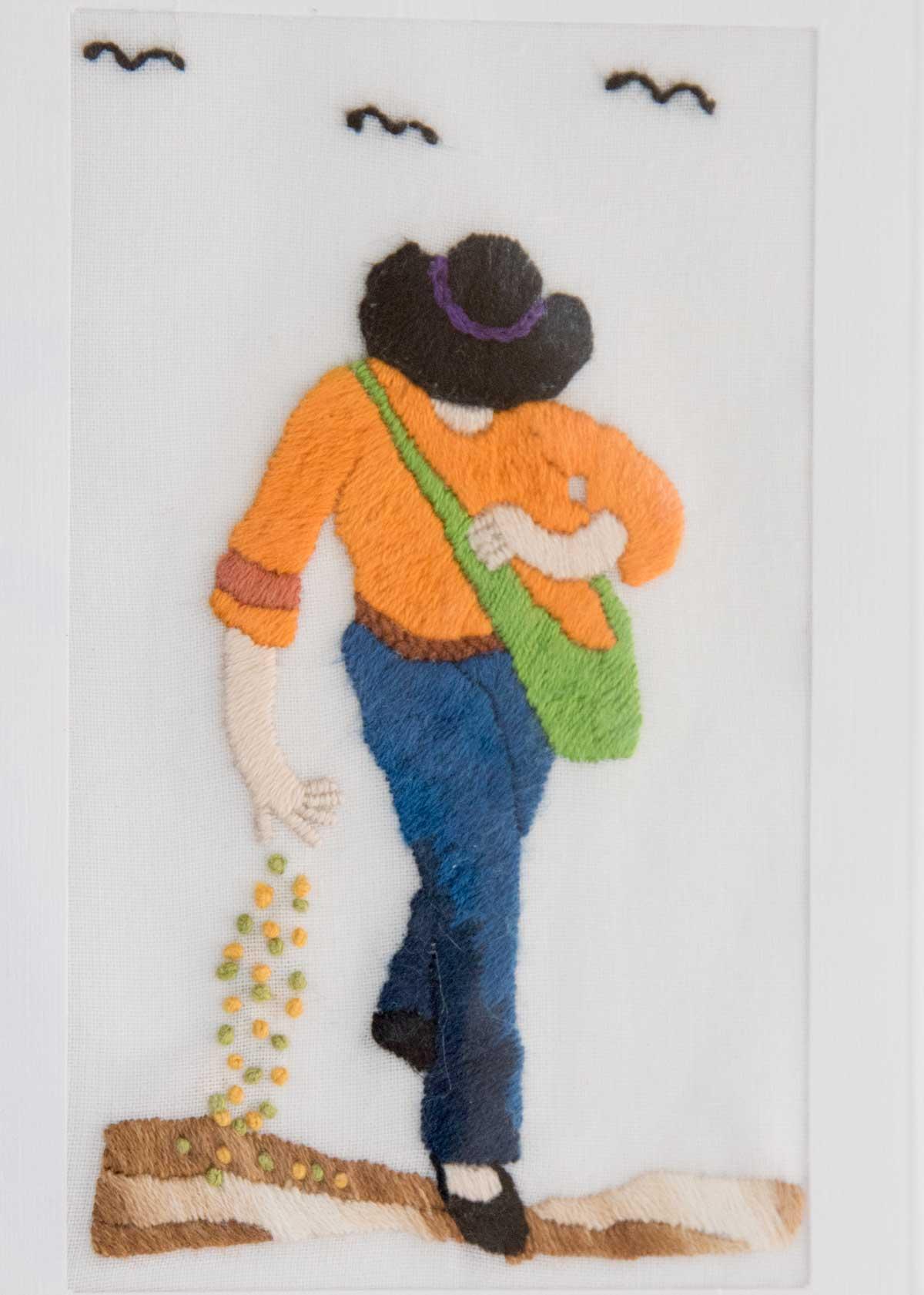 Sowing Seeds; Exhibit of Cuenca Fiber Artists | ©Angela Drake