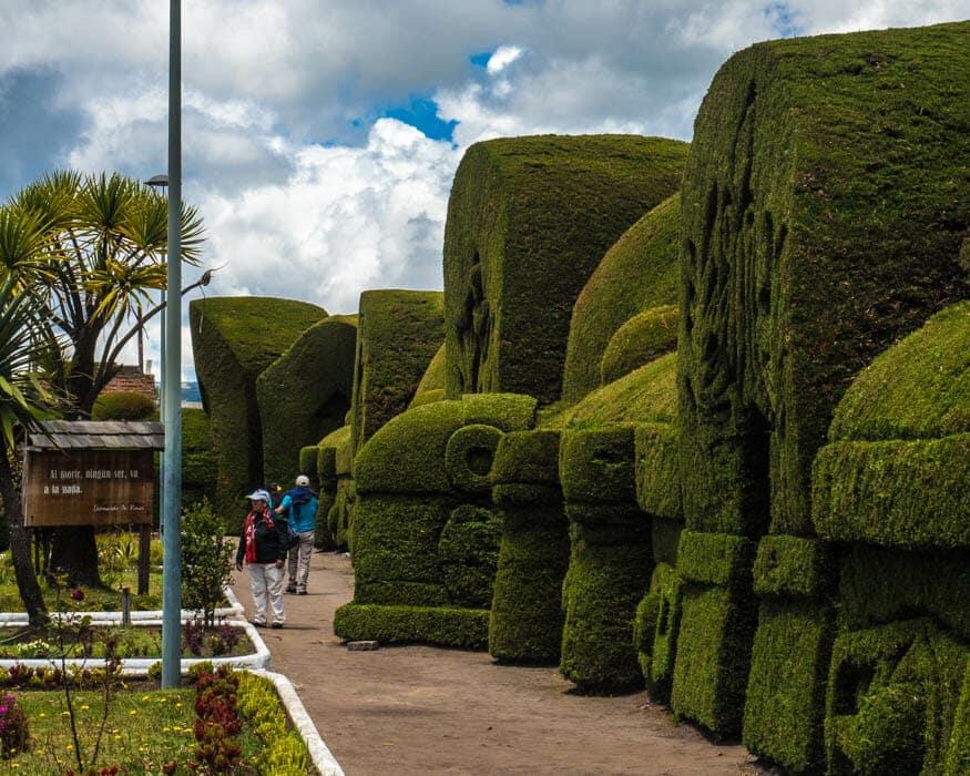 80 year old topiary, Tulcan Cemetery, Ecuador | © Ernest Scott Drake