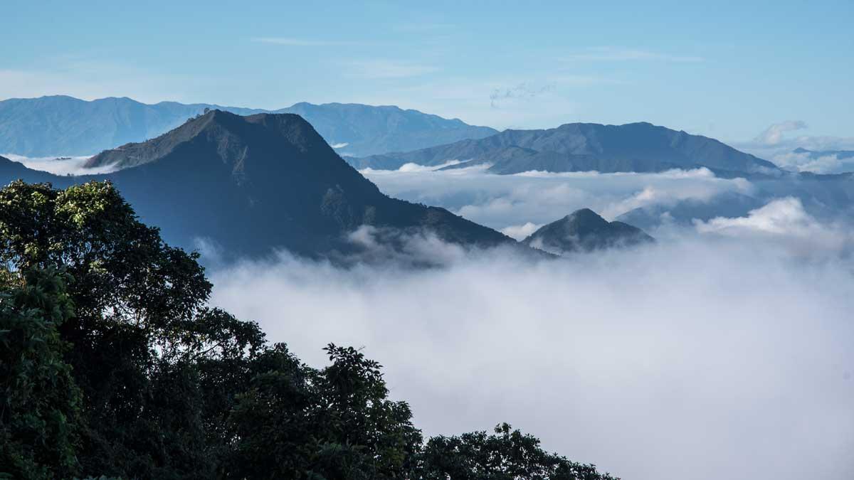 Near the pass at Utuana, Ecuador | ©Angela Drake