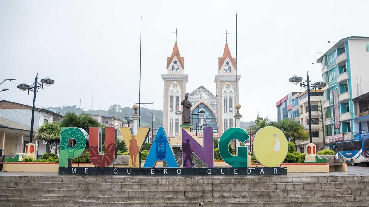 City Sign in Alamor, Ecuador | ©Angela Drake
