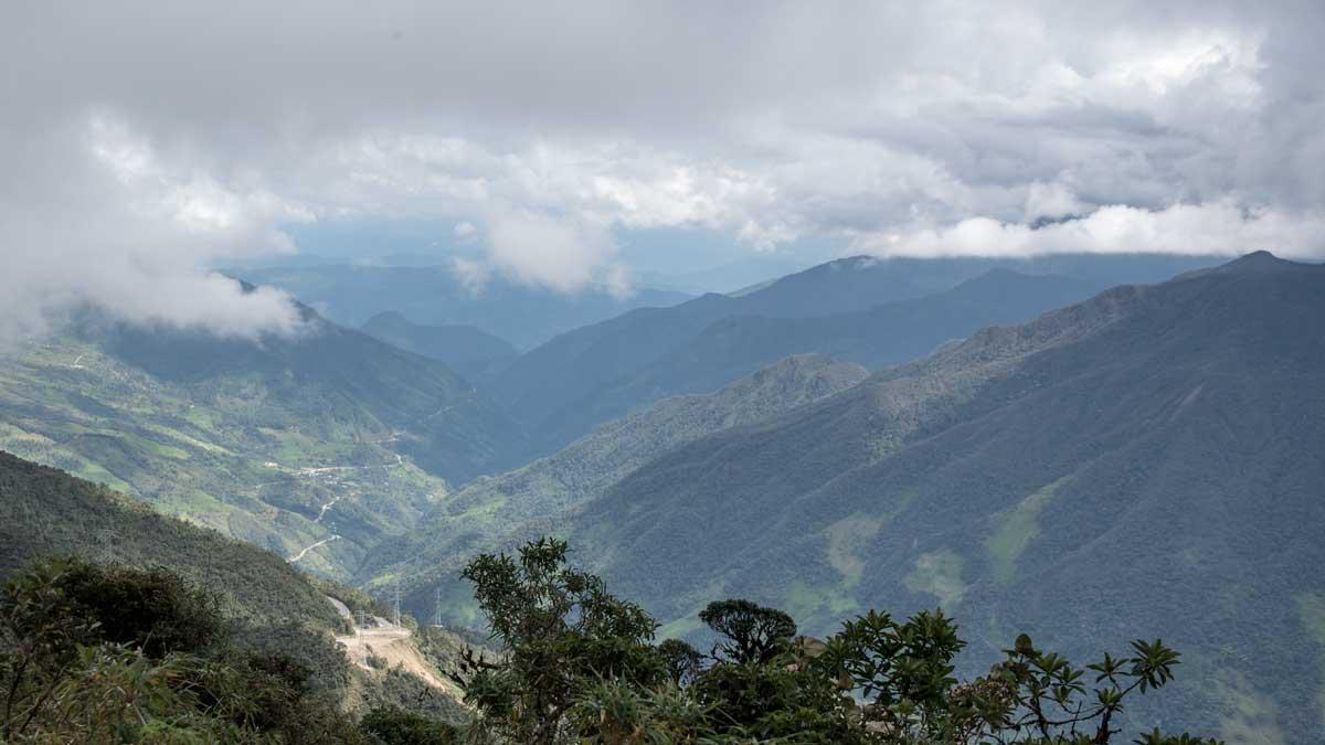 Looking towards the Troncal Amazónica (E-45), Southern Ecuador | ©Angela Drake
