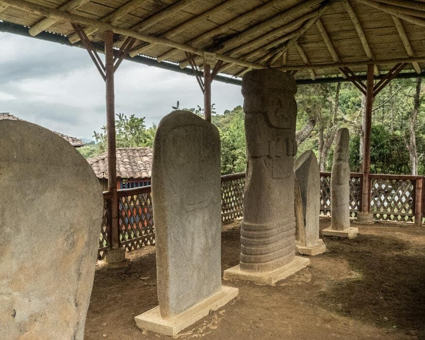 Statues at El Tablon, San Agustin, Colombia | ©Ernest Scott Drake