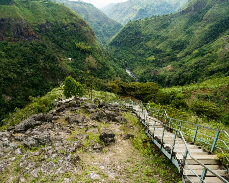 The steps at La Chaquira, San Agustin, Colombia | ©Ernest Scott Drake