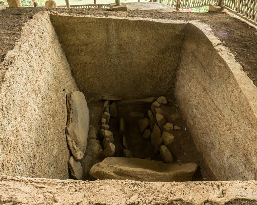 A tomb at La Pelota, San Agustin, Colombia | ©Ernest Scott Drake